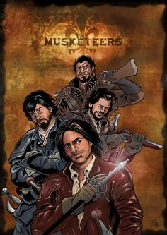 The Musketeers by Giovanni Alessi [©2015]
