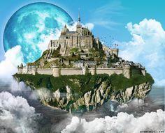 Image result for flying castle