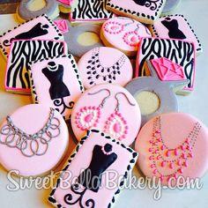 Awesome! Jewelry Cookies Premier Designs Jewelry by www.sweetbellabakery.com