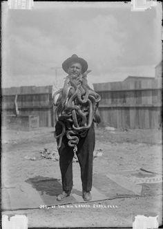 Joe, of the Rio Grande snake farm