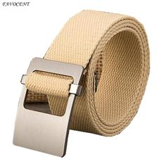 2017 good quality canvas belt on the men and women of the luxury design couple canvas belt men and women belt casual style free  #Affiliate