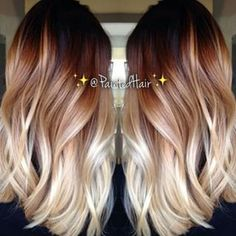 Color melt! i really love this it's the perfect ombre i might do this if somebody could get the perfect ratio of light and dark on my short hair but i have a feeling it would turn into only the ends bei