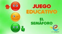 Juego educativo: Juego del semáforo #recursoseducativos