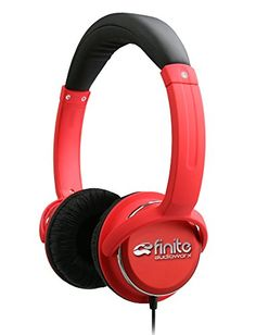 Special Offers - High Performance Over the Head Stereo Headphones by Finite Audioworx  Deep Bass Lightweight HD Audio  In-line Control and microphone  Noise isolating for Mobile Devices & Home Hi-Fi Systems  Red Review - In stock & Free Shipping. You can save more money! Check It (January 22 2017 at 05:55AM) >> http://ift.tt/2jML75Y
