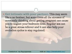 Get intimate with your partner