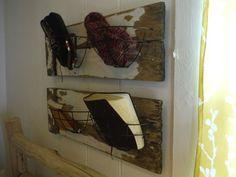 Unused hanging baskets and rotting gate turned storage (Credit: Beth Harris)