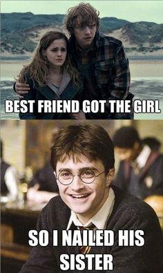 Harry Potter - Best Friend Got The Girl, So I Nailed Her Sister,
