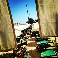 The beach Lido Serenella
