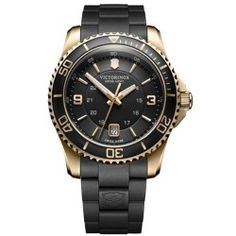 Reloj Caballero Victorinox Maverick Gent IPGold - Ideas Regalo hombres. Relojes de Marca Alicante. Tienda Relojes Alicante. Relojes Suizos Alicante. Regalo padres. Regalos personalizados.