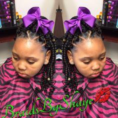 Kids poetic justice braids‼️