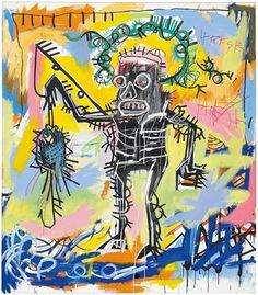Odore di record per il Pescatore di #Basquiat in asta da #Christie's