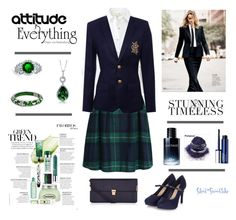 """""""Board of Directors; 16 Jan 2016"""" by silent-snowflake on Polyvore featuring rag & bone, WithChic, Ralph Lauren, Accessorize, MANGO, Angélique de Paris, Bling Jewelry, BERRICLE, Christian Dior and Clinique"""