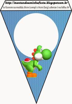 {Free} Super Mario Bros Party Printables