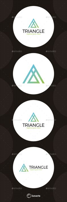 Triangle Letter A Logo Design Template - Letters Logo Templates Vector EPS, AI Illustrator. Download here: https://graphicriver.net/item/triangle-letter-a-logo/14543255?ref=yinkira