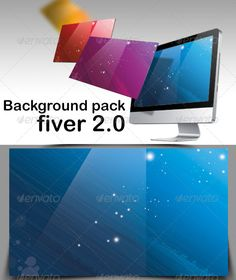 Background Pack Fiver 2.0  #GraphicRiver         Included in this package, 10 different color backgrounds 5 layered gradient direction   you edited easily the background when you want by simple clic in layer   You can use this for your work like wallpapers, background website.   Is it possible to edit the element in background. All the elements are classified in layers so you can move them as you wish.                     Created: 25 November 13                    Graphics Files Included…