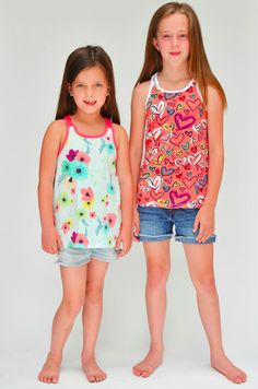 Share with:IT'S FREE The Happy Tank is a FREE pattern in sizes 2-14 years. It was inspired by the Happy Home line of fabrics from Sew Caroline. This easy, breezy summer tank can be made with any knit fabric. It features fun braided racerback straps and a swingy a-line shape. Make them for all the …