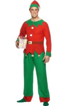 Adult Budget Elf Costume | Jokers Masquerade