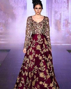 Buy beautiful Designer fully custom made bridal lehenga choli and party wear lehenga choli on Beautiful Latest Designs available in all comfortable price range.Buy Designer Collection Online : Call/ WhatsApp us on : Pakistani Wedding Outfits, Bridal Outfits, Pakistani Dresses, Wedding Attire, Designer Gowns, Indian Designer Wear, Maroon Gowns, Maroon Dress, Indian Gowns