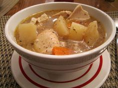 Game Day Recipe: Chunky Chicken Crock Pot Soup