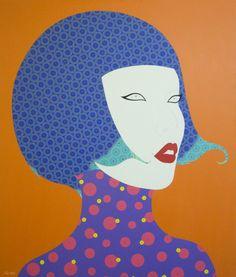 Chamnan Chongpaiboon - She #99 - Thai Art