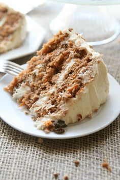 Southern Style Carrot Cake Recipe | Amy in the Kitchen