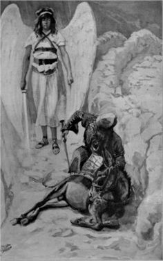 Balaam and the Ass, as in Numbers - James Tissot, c.1900, 226/450.