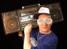 Flashmaster Ray (photo by P.Skupien) #Ghetto Blaster  #hamburg https://www.facebook.com/flashmaster.ray.HipHop