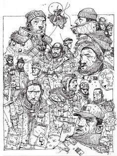 Sketchbook: Boxing Day Doodles.