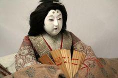 Japanese Antique Hina Ningyo Hinamatsuri Empress Doll w/ Base in Antiques, Asian Antiques, Japan, Dolls | eBay
