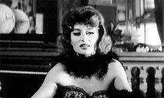 Anouk Aimée on the set of Lola (1961)