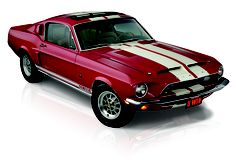 This is the only known 1968 Mustang Shelby GT500 to have had a sunroof installed under the ownership of Ford. Enter to win it by 7/4/2013 at http://www.winthemustangs.com.  Promo code:TP0513M = double tickets!