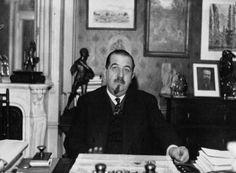 Léon Jouhaux, secrétaire général de la CGT en 1933 © BNF