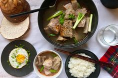 Taro and Ribs Soup / Canh Khoai Sườn | La Vie Partagée