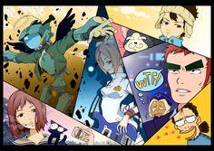 Furi Kuri by ~LiLacinusPlus on deviantART Furi Kuri, Manhwa, Manga Anime, Otaku, Geek Stuff, Comic Books, Cosplay, Fan Art, Deviantart