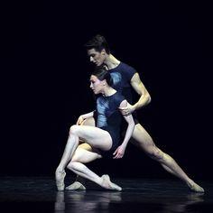 besoindedanser:  Juliette Hilaire and Hugo Marchand InGenius Coreography by Wayne McGregor Jeunes Danseuse et Danseurs (POB)