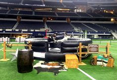 Add the thrill of a mechanical bull to your next event. Game On's bull includes western decor package and two attendants in matching western outfits. Please find complete details on our website. Mechanical Bull, Western Decor, Western Outfits, Westerns, Monster Trucks, Ads, Website, Western Wear