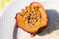 Grilling: Sausage-Stuffed Apples