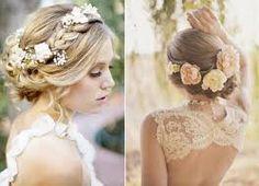 Risultati immagini per wedding upstyles with veil