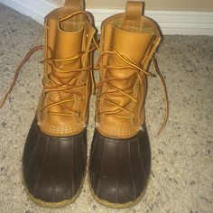 """LL BEAN BOOT 8"""" Worn a couple of times. Size 8 like new L.L. Bean Shoes Winter & Rain Boots"""