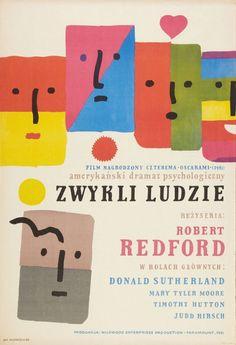 Jan Mlodozeniec's poster for Robert Redford's Ordinary People (1980).