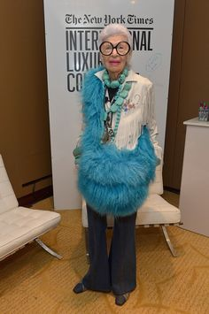 At the the New York Times International Luxury Conference at Mandarin Oriental in 2014 in Miami.