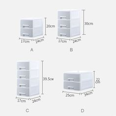 Multi-layer Desktop Drawer Storage Box Office Paper File Container Home Toy Cloth Underwear Socks Storage Boxes Sundries Case Sock Storage, Storage Drawers, Storage Boxes, Desktop Drawers, Desktop Storage, Office Paper, Dressing Table, A 17, Underwear