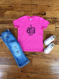 OH Snap! Tshirt & Onesie - Unisex, Siblings, Matching, Baby, Toddler by…