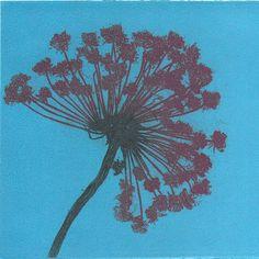 Carrot flower print