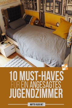 10 must-haves for a suitable youth room - Teen room Romantic Room Decoration, Wooden House Decoration, Teen Girl Rooms, Teen Bedroom, Youth Rooms, Cool Wall Decor, Shelves In Bedroom, Girl Bedroom Designs, Bedroom Ideas