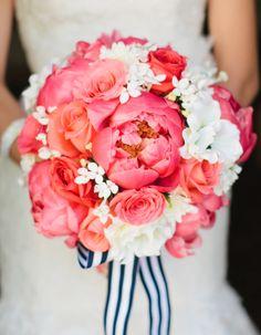 Pink Wedding Inspiration on the blog! #prettyinpink #wedding #inspiration #theoverwhelmedbride