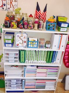 Take a tour of our homeschool classroom. I wanted an organized homeschool setup. In our classroom there is a place for everything! I am homeschooling 2 ages, I have to keep resources/supplies/curriculums for two different ages. I wanted a space where ever