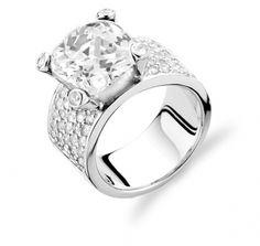 Ti Sento zilveren Ring 1351ZI - Trendjuwelier.nl