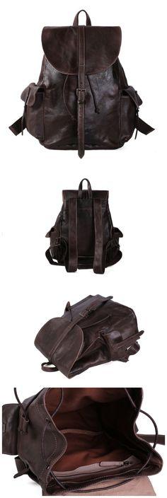 Leather Backpack/Rucksack/School Backpack/Travel Backpack