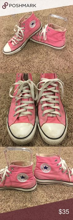 Chuck Taylor All St⭐️rs Size 8 in men's, I wear a 10 religiously and that's what these are in women's size so I'm posting as such. These have been loved am worn so obviously have wear but they are in great shape and need a new owner! Converse Shoes Sneakers